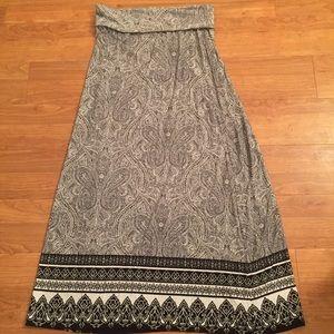 Cynthia Rowley Boho Maxi Skirt - Long
